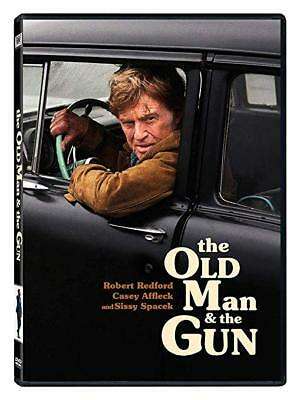 THE OLD MAN AND THE GUN DVD 2018  FACTORY SEALED BRAND NEW