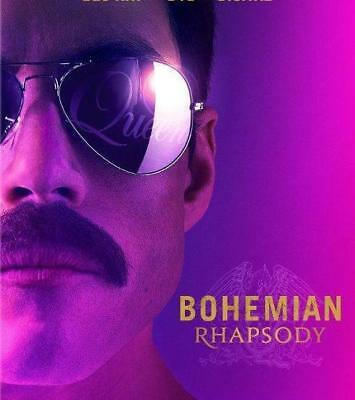 BOHEMIAN RHAPSODY  DVD2018  FACTORY SEALED FREE SHIPPING 212  BRAND NEW