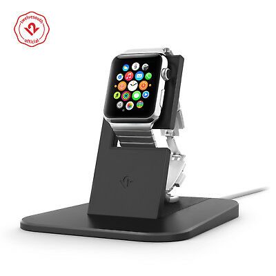 Twelve South HiRise for Apple Watch black Metal charging dock for Apple Watch