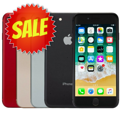 ~ Apple iPhone 8 (Factory Unlocked) Verizon AT&T T-Mobile Consumer GSM ~
