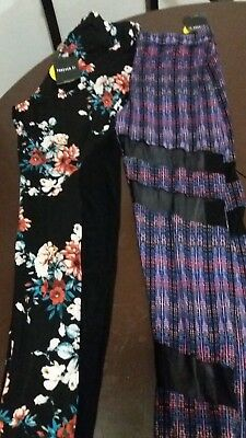 forever 21 Leggings multicolored2 pairssize small