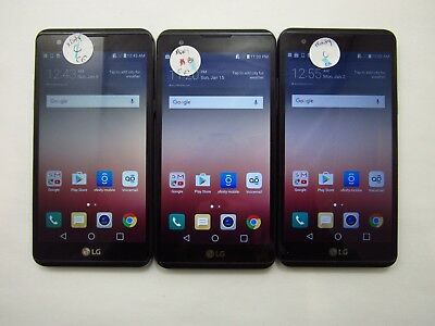 Lot of 3 LG X Power K212 XFinity Mobile Check IMEI Fair Condition 5-892
