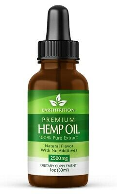 Buy 2 get 1 FREE Earthtrition™ 2500mg Premium Hemp Oil - Pure Extract