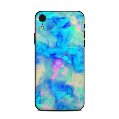 iPhone Xr Skin - Electrify Ice Blue by Amy Sia - Sticker Decal