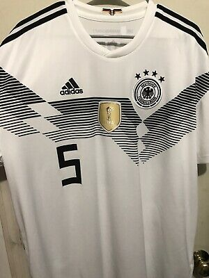 Adidas Germany Soccer Jersey World Cup 2018 Beckenbauer Men's Size XXL