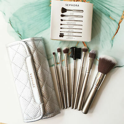 COLLECTION Deluxe Antibacterial Brush Set 7pcs Makeup Tools Brushes