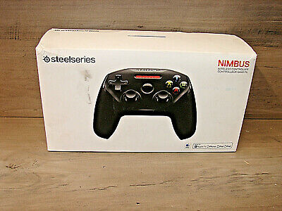 SteelSeries Nimbus Wireless Gaming Controller for Apple TV Other iOs Devices