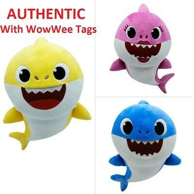 WOWWEE PINKFONG AUTHENTIC  BABY SHARK OFFICIAL SONG DOLL PLUSH USA - ENGLISH