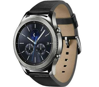 Samsung Gear S3 Classic Bluetooth Smartwatch SM-R770  Dark Grey - Silicone Band
