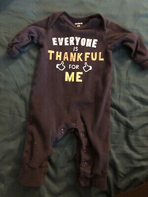 Carters 3 Month Thanksgiving Outfit