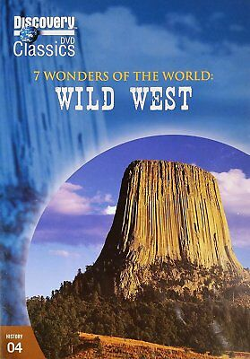 7 Wonders of the World Wild West Discovery Classics DVD NEW