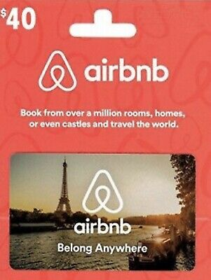 Airbnb 40 Gift Credit for first time user - Bonus