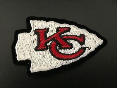 Kansas City Chiefs Patch Iron On Embroidered Patch USA SellerFREE Shipping