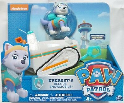 - Paw Patrol - Everests Rescue Snowmobile - US Seller