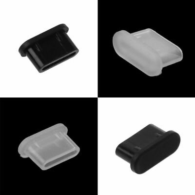 5 pcs Type-C Dust Plug USB Charging Port Protector Silicone Cover for Samsung