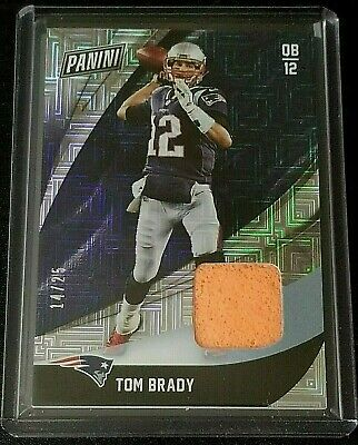 TOM BRADY 2018 PANINI BLACK FRIDAY PYLON PATCH 1425 PATRIOTS