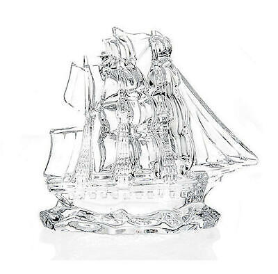 Waterford Crystal Dunbrody 6 Tall Ship Collectible
