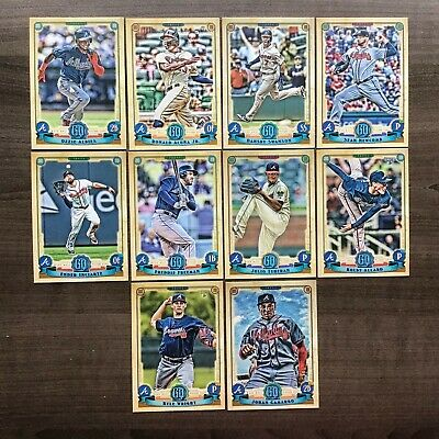 2019 Topps Gypsy Queen Base Team Sets  Pick your Team