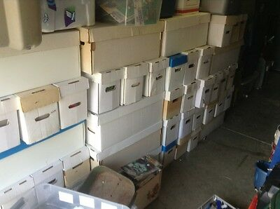 Huge Lot Of Comics All MARVEL - DC NO JUNK Over 25000 storage unit find