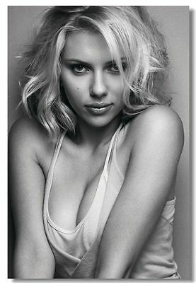 Scarlett Johansson Sexy Hot Movie Girl Art Silk Poster Print 13x20 24x36 inch 01