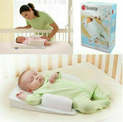 2019 New Infant Anti Roll Pillow Bed Cushion Baby Cushion Sleeping Care