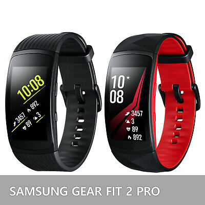 Samsung Gear Fit 2 Pro Fitness Smartwatch SM-R365 Black and Red