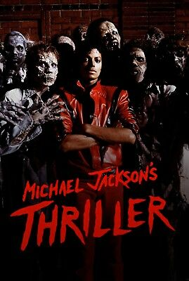 Michael Jacksons Thriller movie poster a   11 x 17 inches