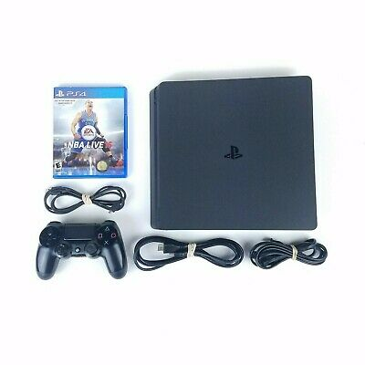 Sony PlayStation 4 500gb PS4 Slim System w Sony Controller - All Cords