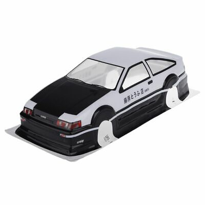 RC 110 Scale On-Road Drift Car Painted PVC Body Shell For Toyota Corolla AE86