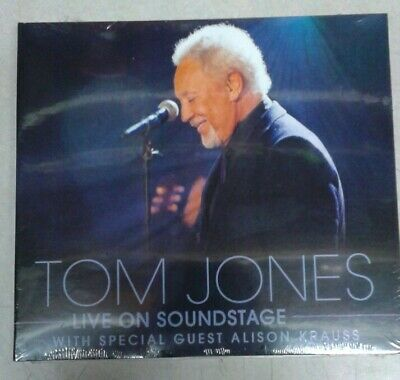 Tom Jones LIVE ON SOUNDSTAGE DVD  CD Combo NEW