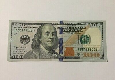 100 Dollar Bill Federal Reserve Bank Note