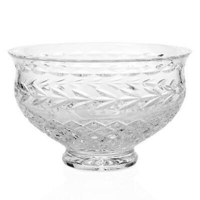 House of Waterford Laurel Wreath Handmade Crystal Bowl