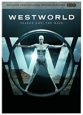 WESTWORLD The Complete First Season 1 HBO 3-Disc DVD Boxed Set 2017  NEW
