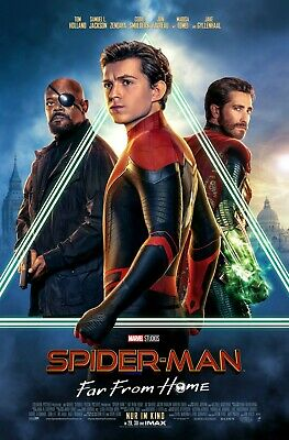 Spiderman Far From Home movie poster b - Spiderman poster - 11 x 17 inches