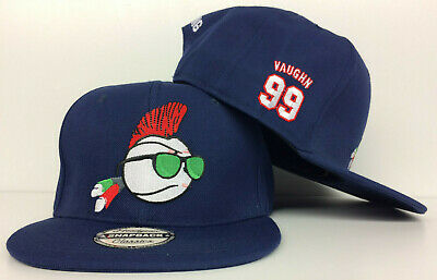 Major League Indians Rick Vaughn Wild Thing Movie Authentic Snapback Hat Cap