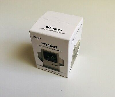 Elago Apple Watch W3 Stand - Nightstand Mode - BRAND NEW - FREE SHIPPING