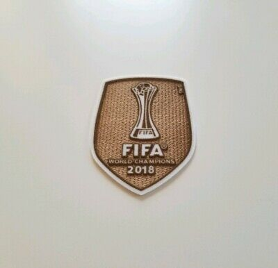 FIFA Club World Cup Champions 2018 patch - Real Madrid - Benzema Bale- NEW