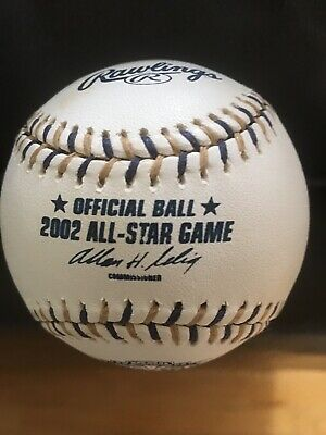 Rawlings Official 2002 MLB All Star Game Baseball-not game used