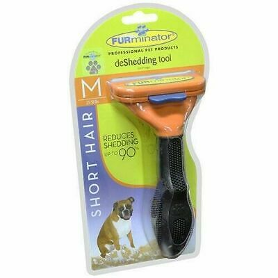 FURminator deShedding Tool for Short Hair Dogs Medium 21-50lbs Brand New