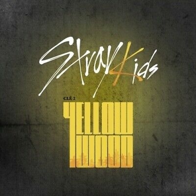 US SHIPPING Stray Kids Cle 2Yellow Wood Limited CD-Poster-etc