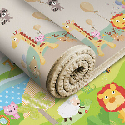 200x180x1cm Extra Large - Thick Baby Play Mat Non-Toxic Thick Folding Playmat