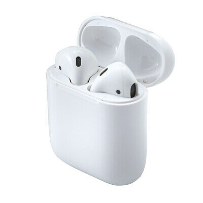 Genuine Apple Airpods W Charging Case White 2nd Generation MV7N2AMA