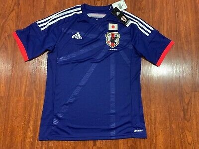 2014 World Cup Adidas Youth Japan Home Soccer Jersey XL Extra Large Boys