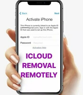 iCloud Unlock removal Service REMOTELY For all Iphone Models X 10 min-2 days