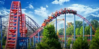 Two 2 2019 Six Flags Great America Single Day E-tickets