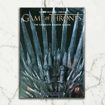 Game 0F of ThronesThe Complete 8 Season DVD 2019 3-Disc Set IN STOCK NOW