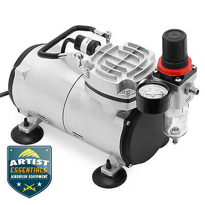 OPEN BOX - Tankless Portable 15HP Airbrush Compressor