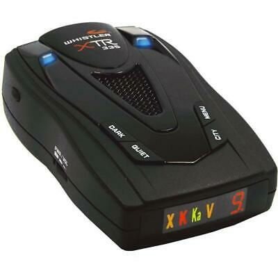Whistler 360 Degree Coverage Radar Laser Detector With Real Voice Alert XTR-335