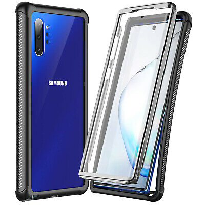 For Samsung Galaxy Note 10- Plus Case Shockproof Waterproof w Screen Protector