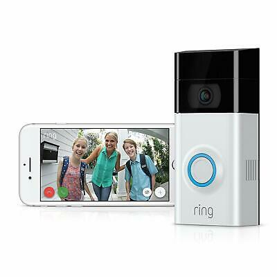 Ring Video Doorbell 2 HD Motion Activated Alerts Easy Install 0 TAX
